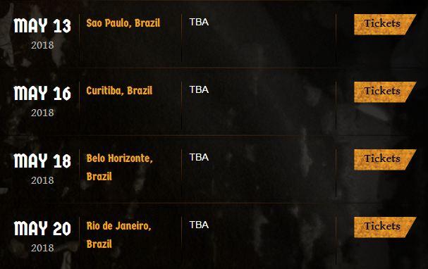 Ozzy Osbourne anuncia turnê de despedida com shows no Brasil