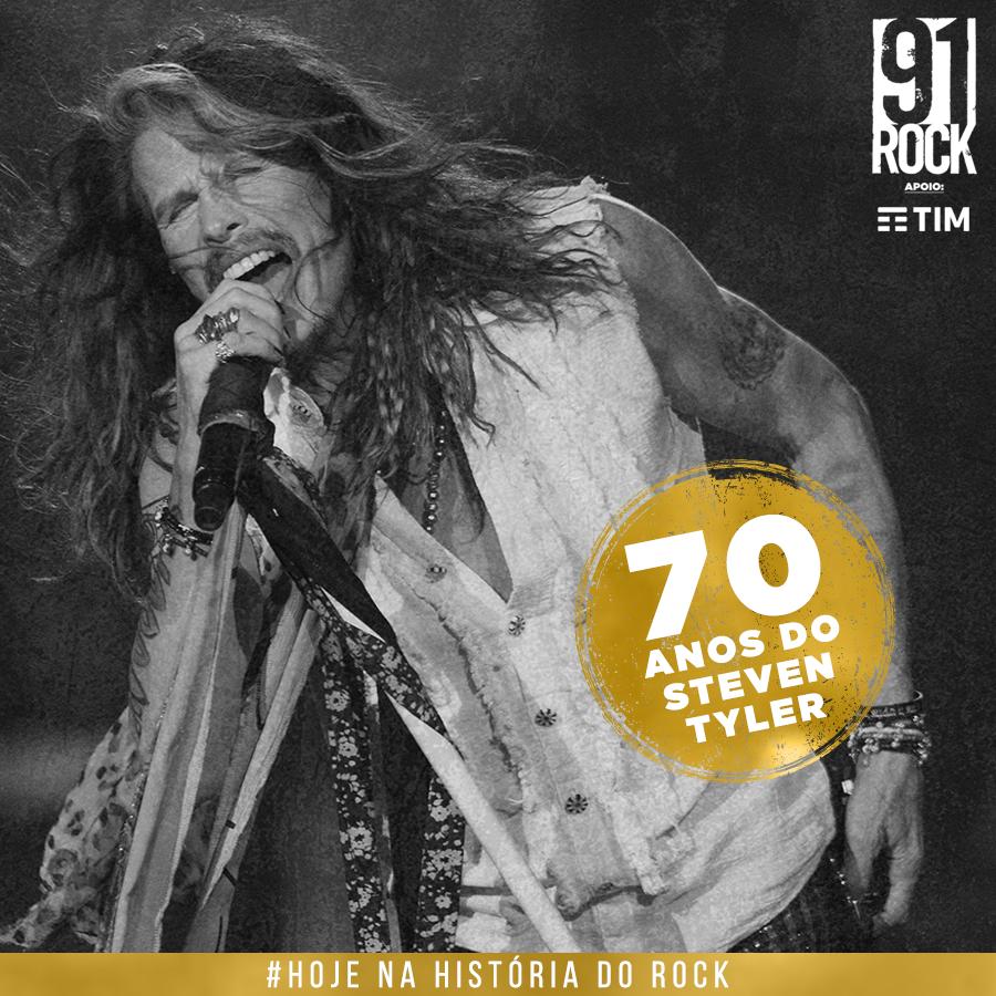 70 anos do Steven Tyler