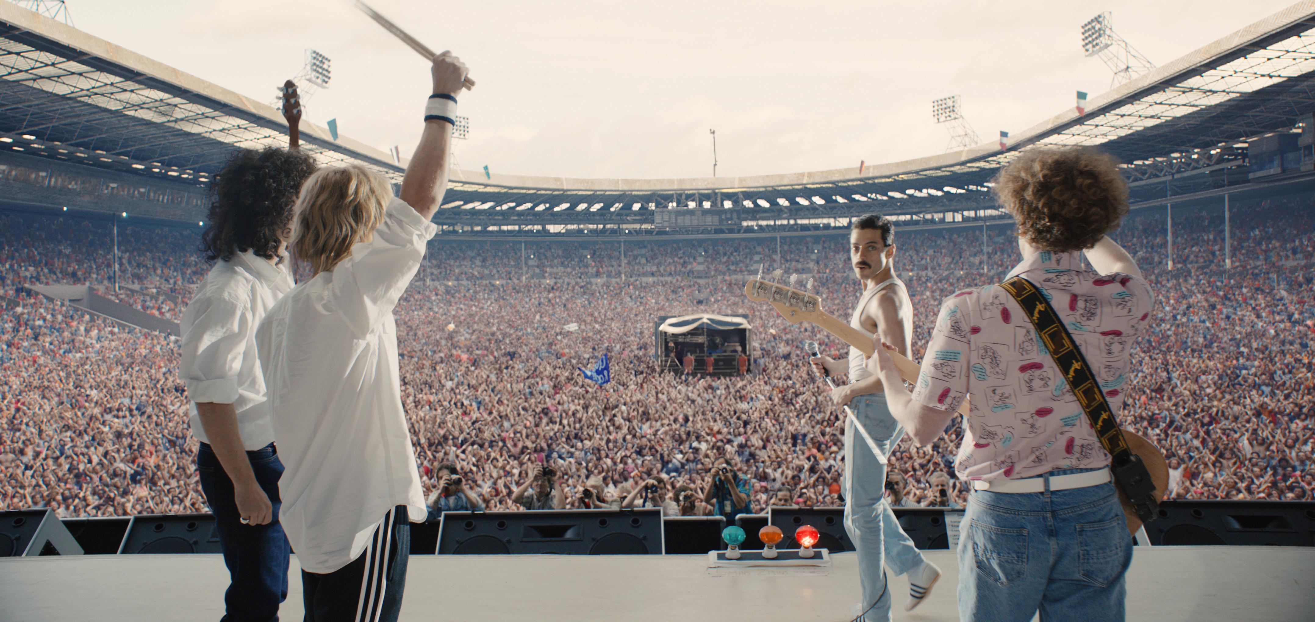 Primeiras fotos oficiais do filme sobre Freddie Mercury