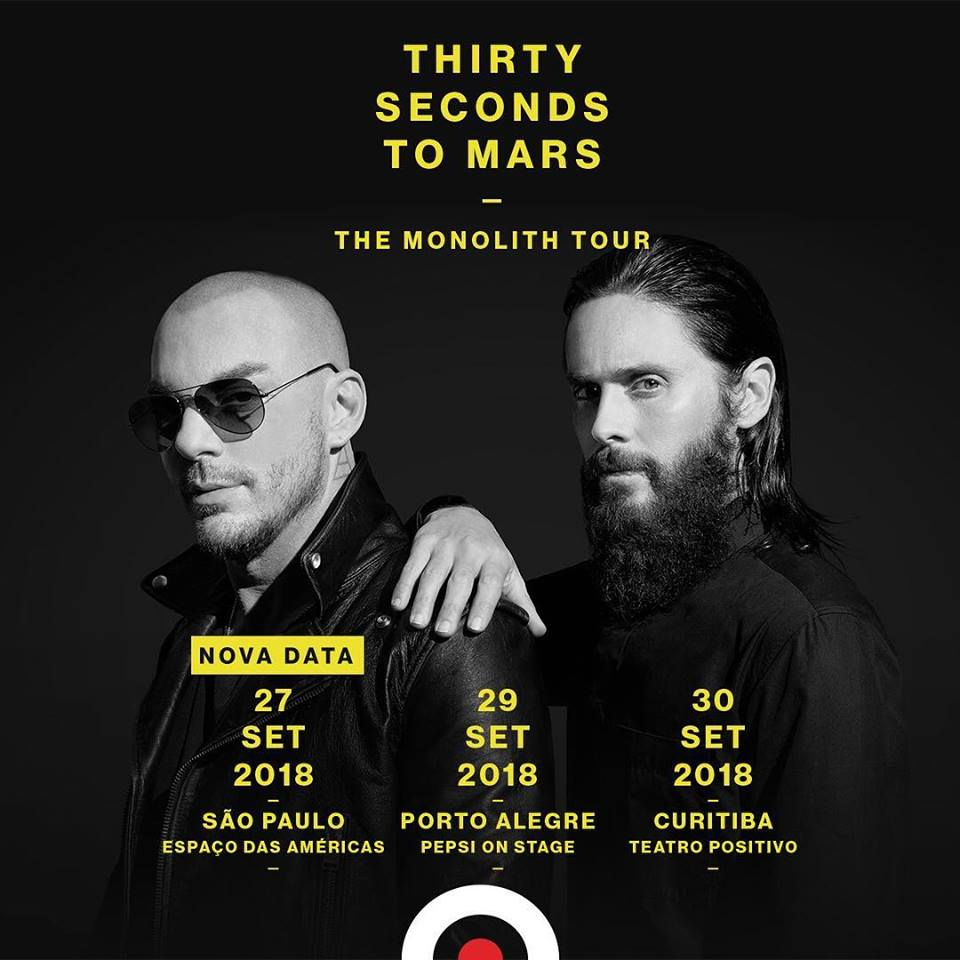 Thirty Seconds To Mars no Brasil