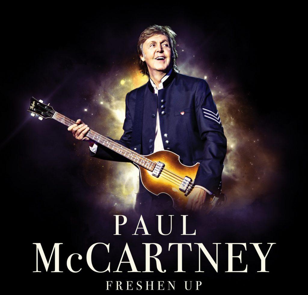 Paul McCartney fará shows no Brasil
