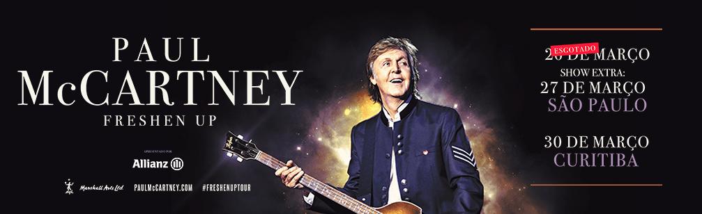 Paul McCartney anuncia