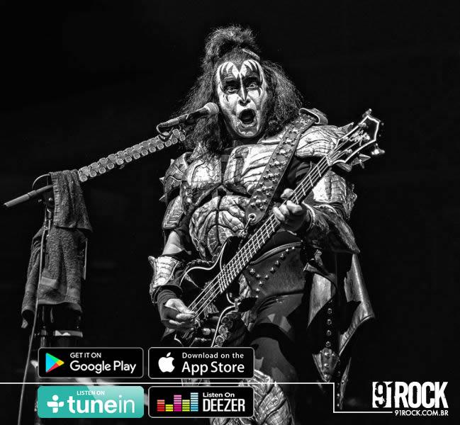 Vendas de ingressos para o show do Kiss no Brasil começam no proximo dia 21 de novembro