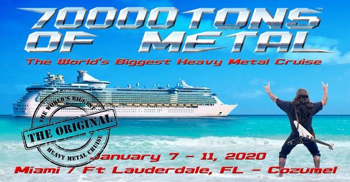 """Com 60 bandas em 4 dias, """"70000 Tons of Metal"""", é o maior festival de Heavy Metal dentro de um navio"""