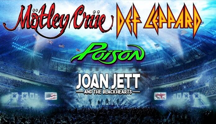 Tudo oficializado e com as datas marcadas: Mötley Crüe anuncia turnê com Joan Jett, Poison e Def Leppard