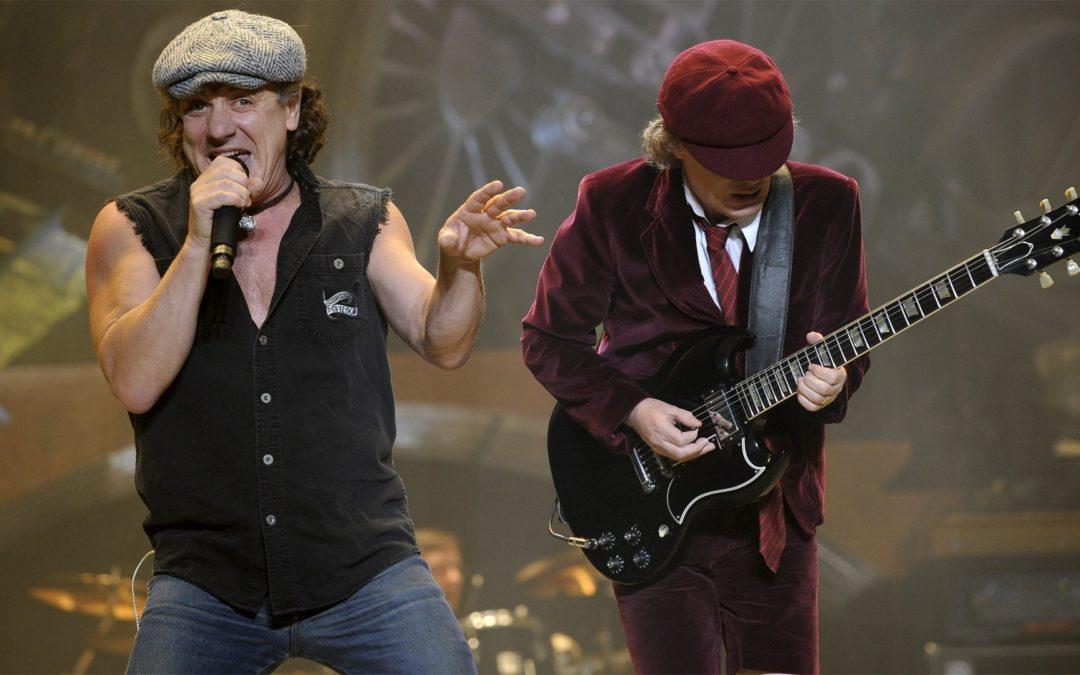 AC/DC de volta à estrada com Brian Johnson