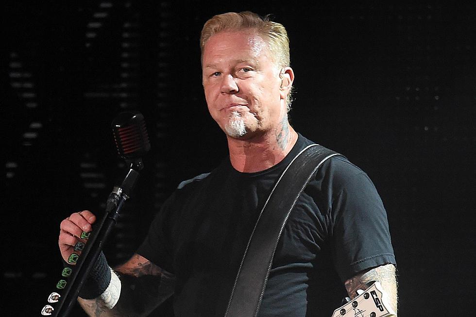 James Hetfield fará primeira aparição pública após reabilitação