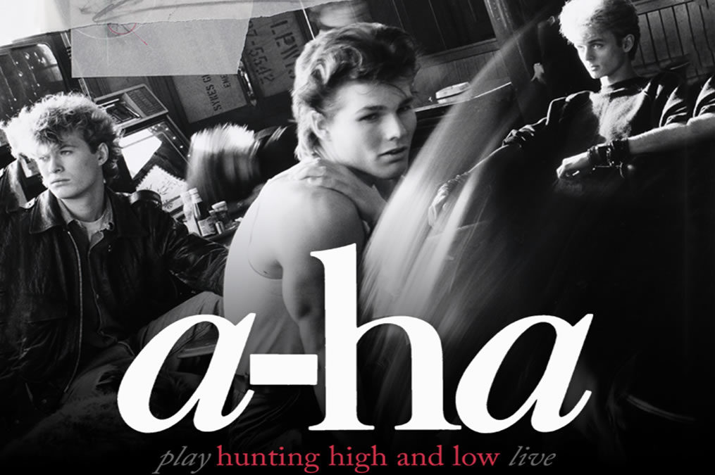 "A-HA anuncia vinda da última turnê mundial  ""Hunting High And Low"" a Curitiba"