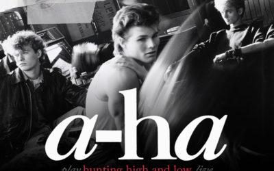 "A-HA anuncia vinda da última turnê mundial  ""Hunting High And Low"" a Curitiba"