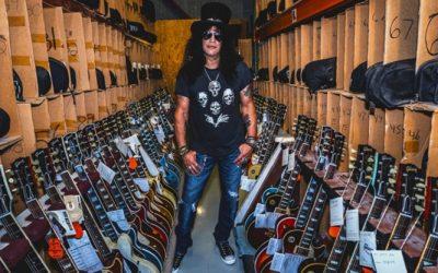 Novo álbum do Slash será o primeiro lançamento da Gibson Records
